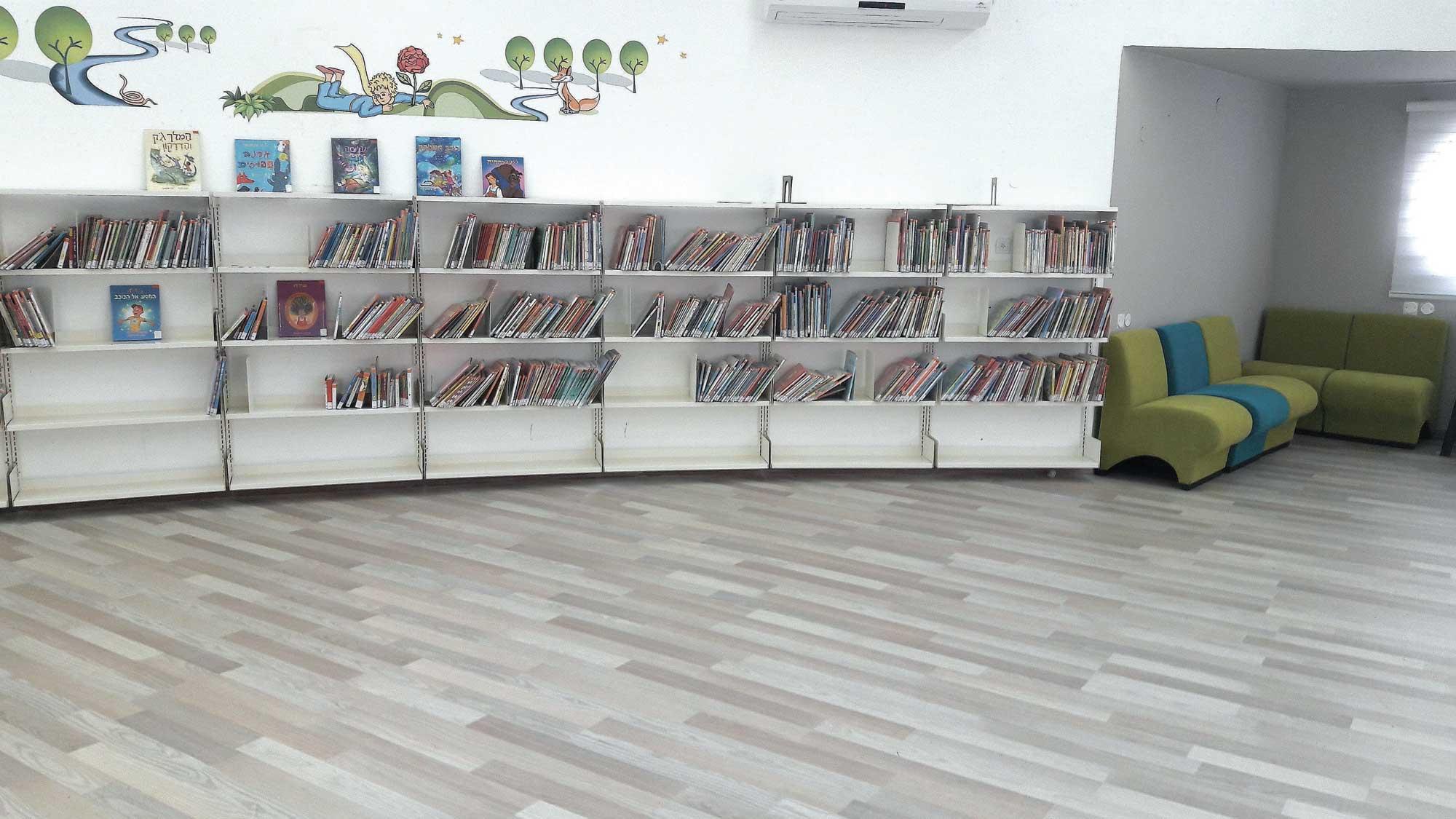 ספריית השחר לקטנטנים. צילום: דוברות העירייה