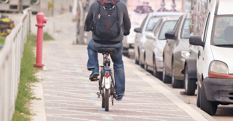אופניים חשמליים צילום עזרא לוי