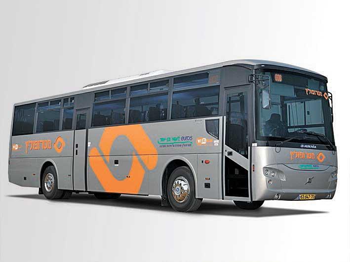 אוטובוס מטרופולין צילום עינב רימון