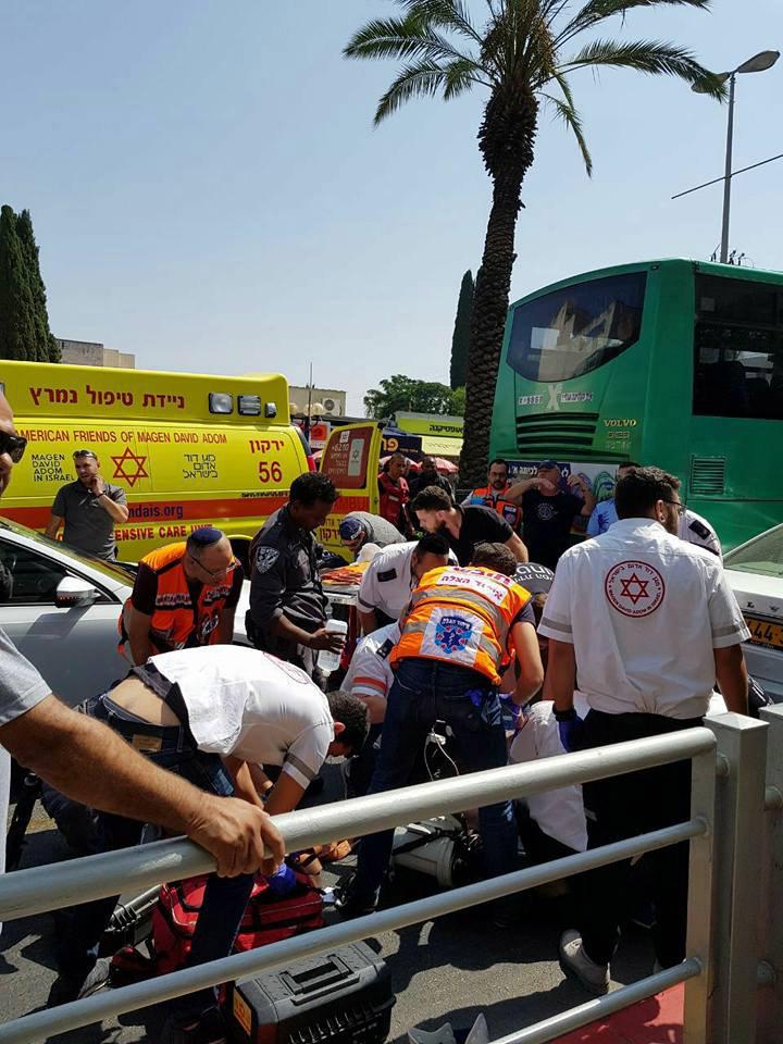 תאונה אחוזה. צילום: דוברות העירייה.