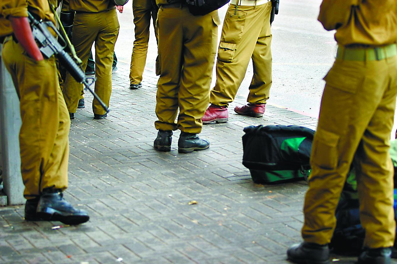 צילום אילוסטרציה חיילים: חן גלילי