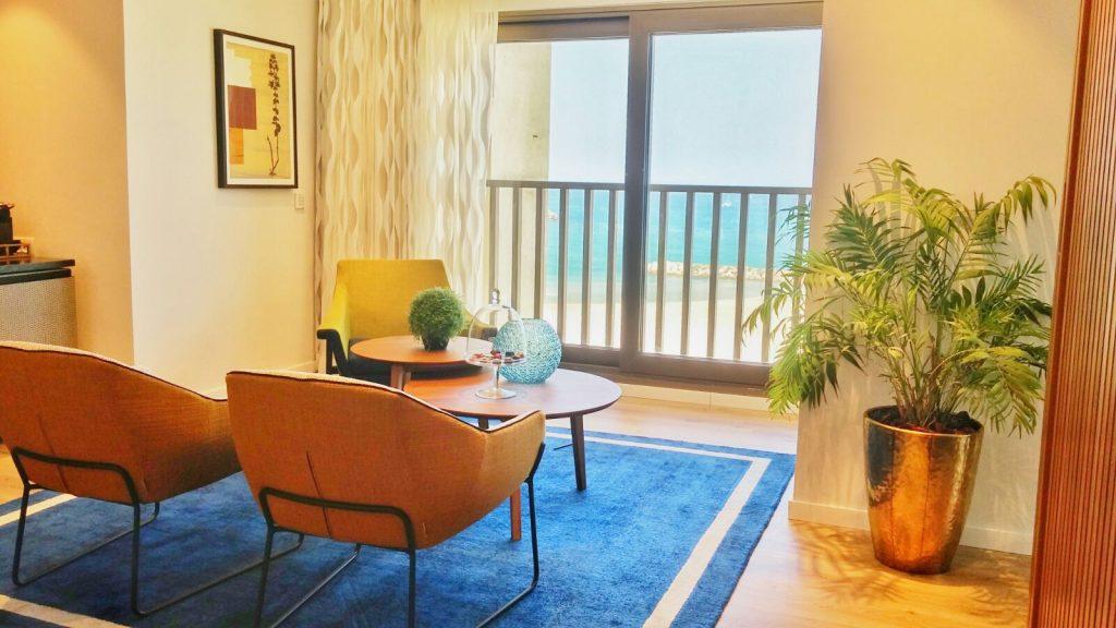 חדר במלון המשופץ צילום הילה דוידי