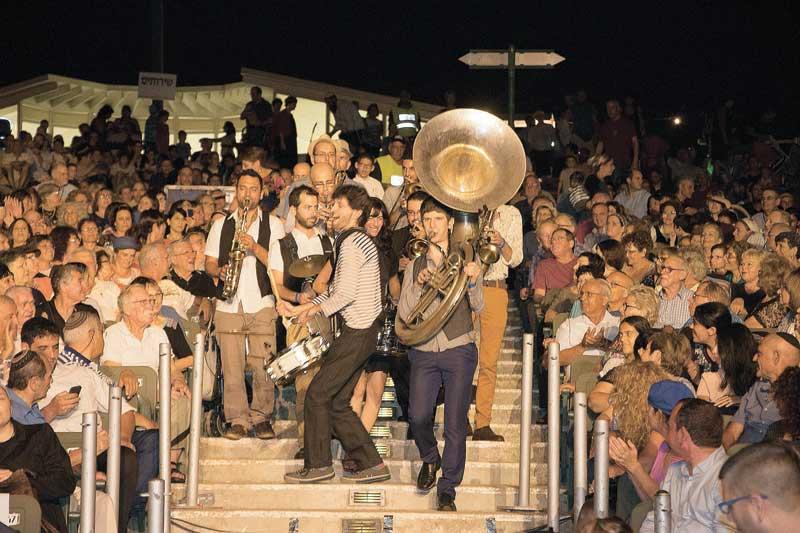 חגיגות כליזמרים. צילום מיכל סלע