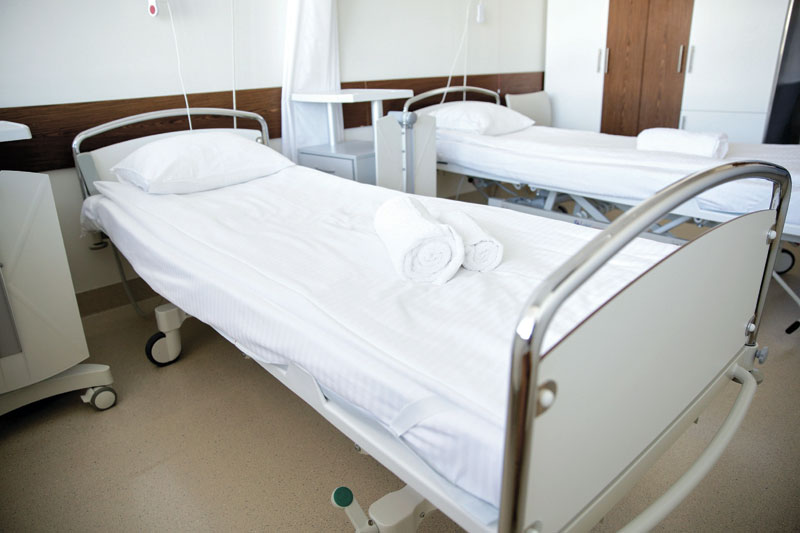 אילוסטרציה מיטת בית חולים. צילום א.ס.א.פ קריאייטיב/INGIMAGE