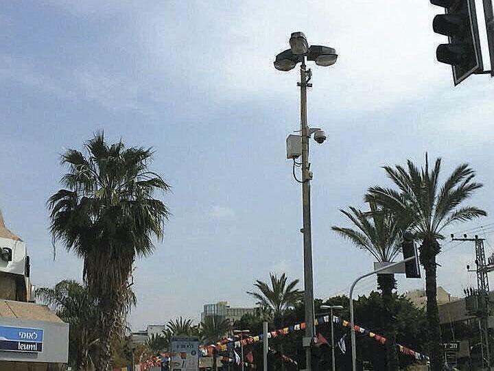 המצלמות ברחוב אחוזה - קרן היסוד