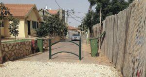 חסימת הרחובות בשכונת רסקו