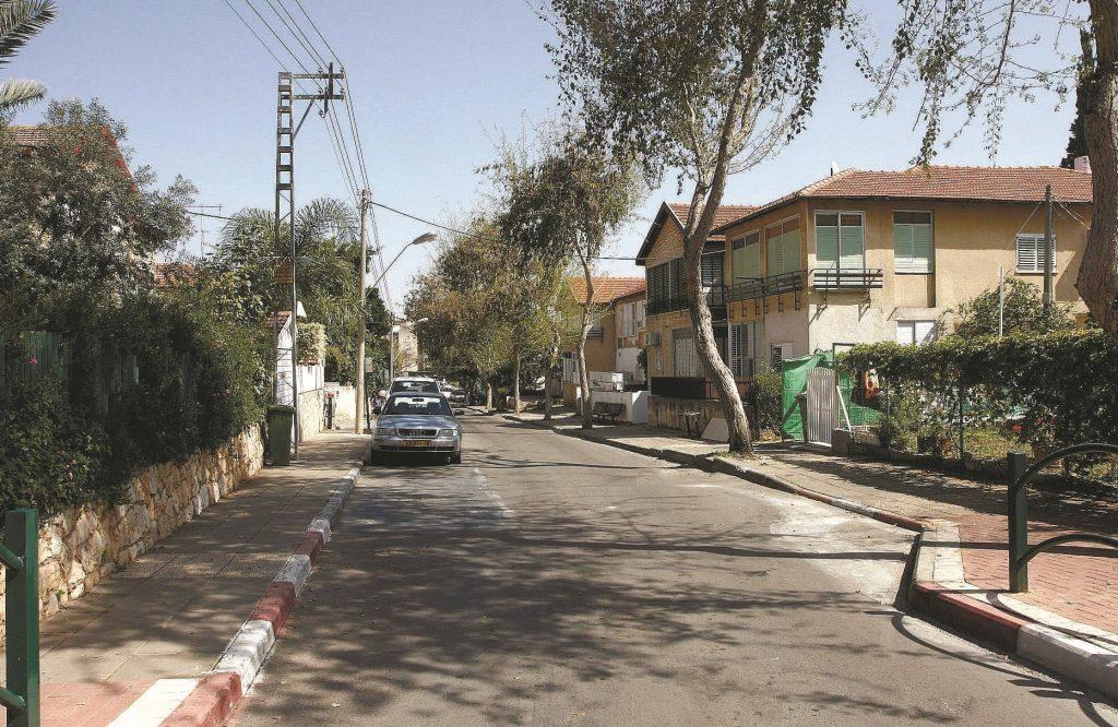 שכונת כיסופים. צילום: עזרא לוי