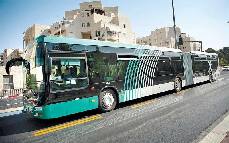 אוטובוס אגד. צילום מיכאל פתאל