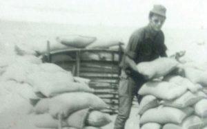 """דוד מנוס 1974. צילום דובר צה""""ל"""
