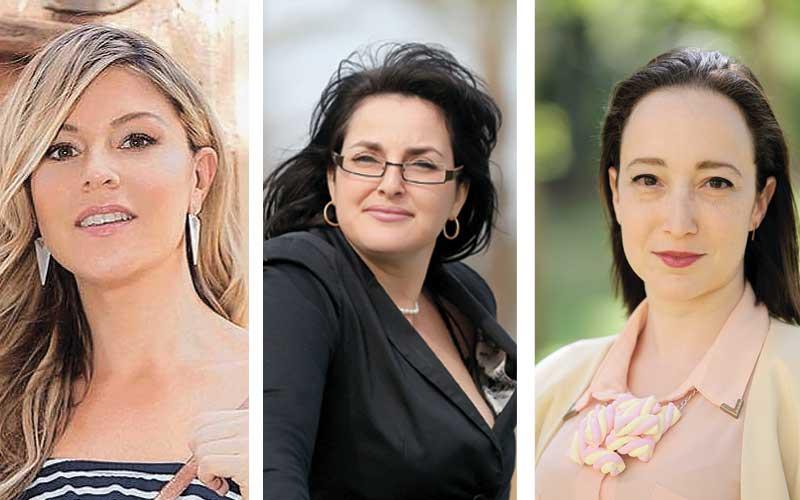 מימין: פליאה קטנר, אוריה עמרני, מרינה גורביץ'. צילומים עזרא לוי