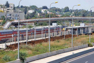 תחנת הרכבת בהרצליה. צילום ניר קידר