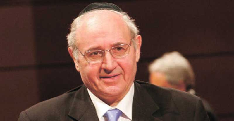 הרב ג׳וזפה (יוסף) לאראס ז״ל. צילום באדיבות המשפחה