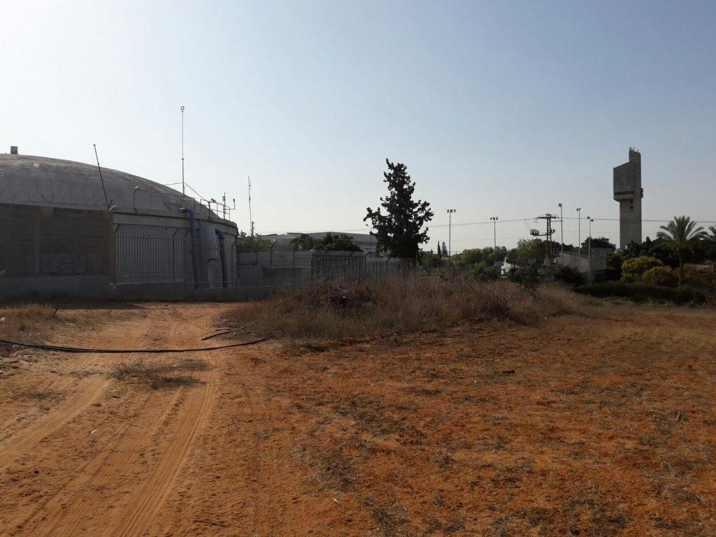 השטח המיועד לבנייה, מצפון לדרך בן יהודה