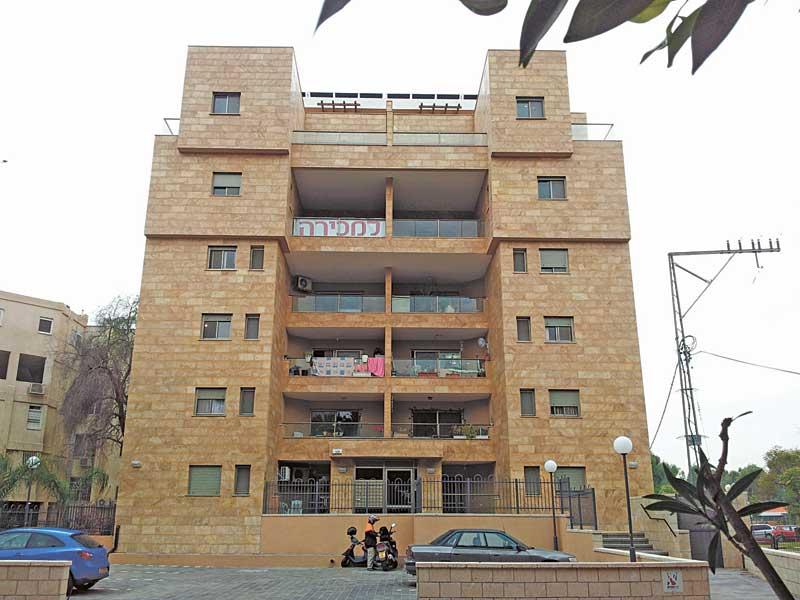 בניין בויצמן 123 רעננה. צילום עזרא לוי