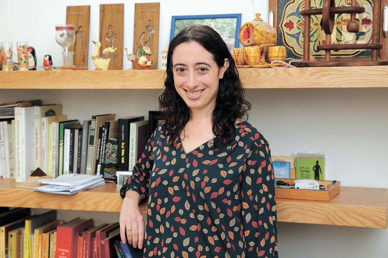 שרה טנקמן. צילום עזרא לוי