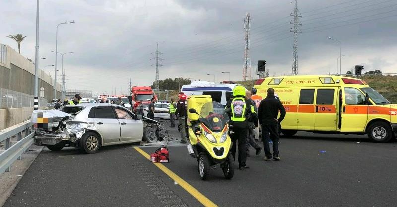 תאונת דרכים סמוך למחלף 531