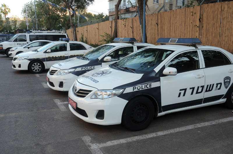 ניידת משטרה. צילום: זאב שטרן