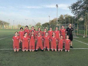 קבוצות כדורגל נשים. צילום הפועל רעננה