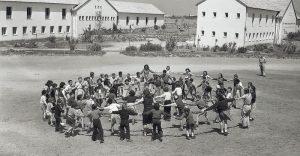 כפר בתיה תחילת שנות החמישים צילום ארכיון רעננה