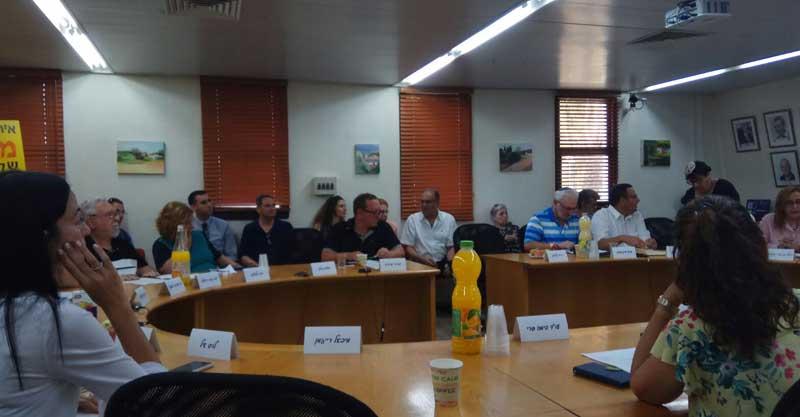 ישיבת מועצה צילום דניאל סלגניק