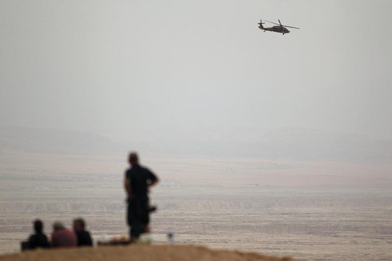 החילוץ בנחל צפית. צילום אילן אסייג