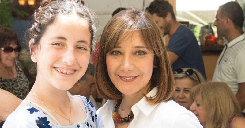 חברת הכנסת ובתה אדל. צילום: אייל רוכסר