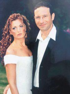 פזית וירון מינוקבסקי ביום חתונתם צילום פרטי