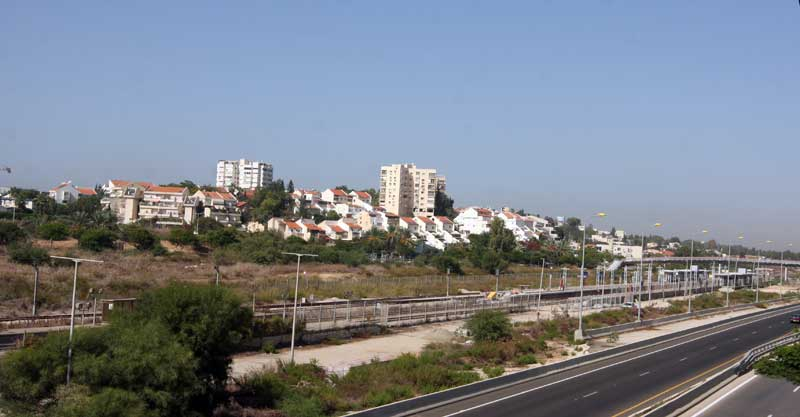 הרצליה ב' וכביש איילון צילום עזרא לוי