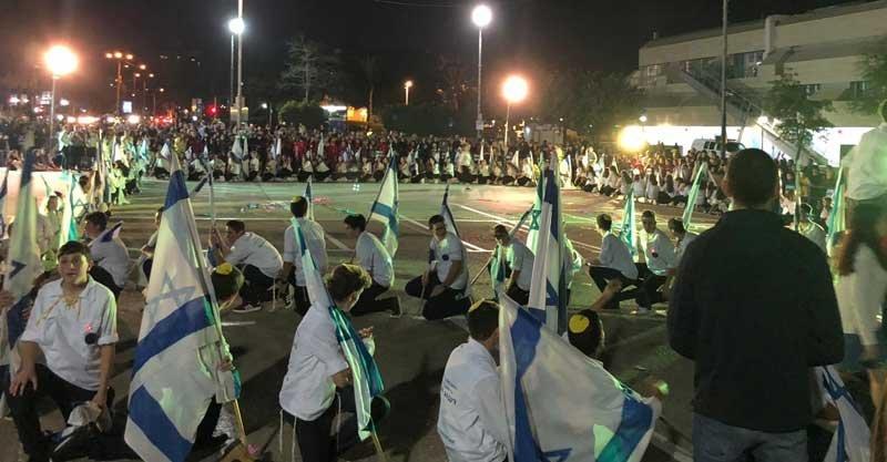 שבת ארגון של בני עקיבא. צילום אלי אלוש
