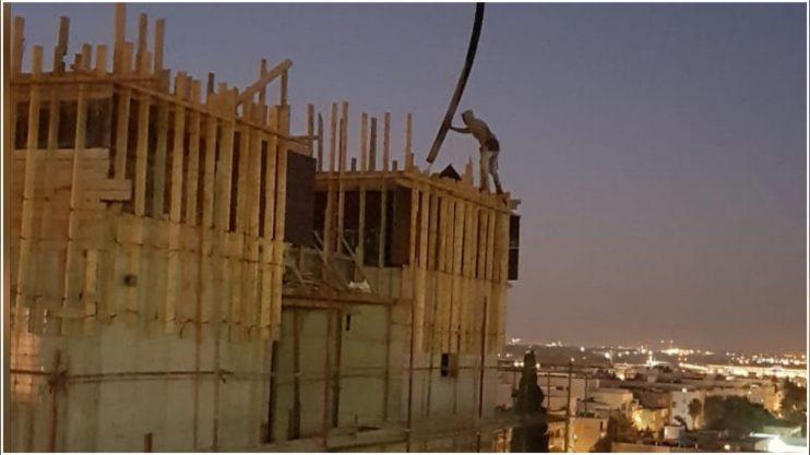 הבנייה ברחוב המעלות 3