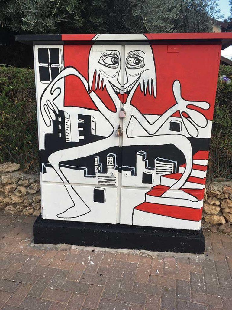 ארון ברחוב קזןאיור רפי בלר