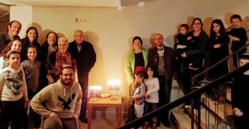 הדלקת נרות בן-גוריון צילום עיריית רעננה