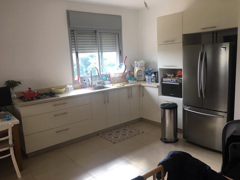 המטבח בדירה. קרדיט: איצקוביץ נכסים