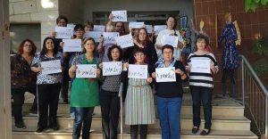 הפגנת מועצת נשים רעננה, צילום צביה וולף