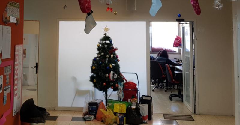 חג מולד בתיכון אנקורי