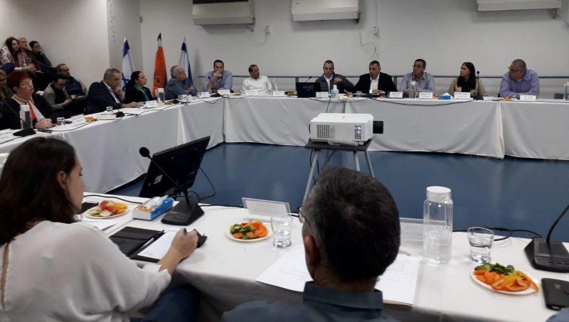 ישיבת מועצת העיר, אתמול. צילום אריה אברמזון