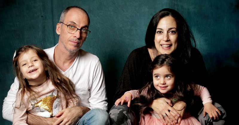 משפחת אריאל צילום עידו סקעת