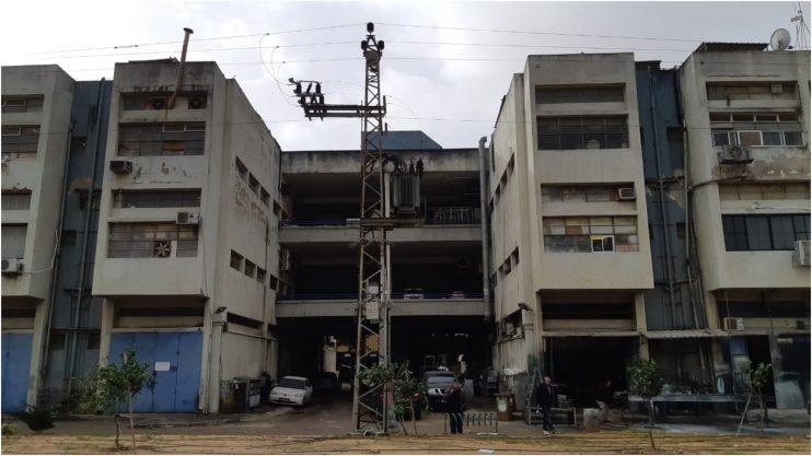 בניין סולל בונה באזור התעשייה רעננה
