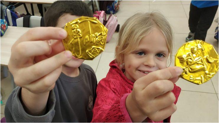 ילדי ברטוב בחינוך פיננסי. צילום: דוברות העירייה