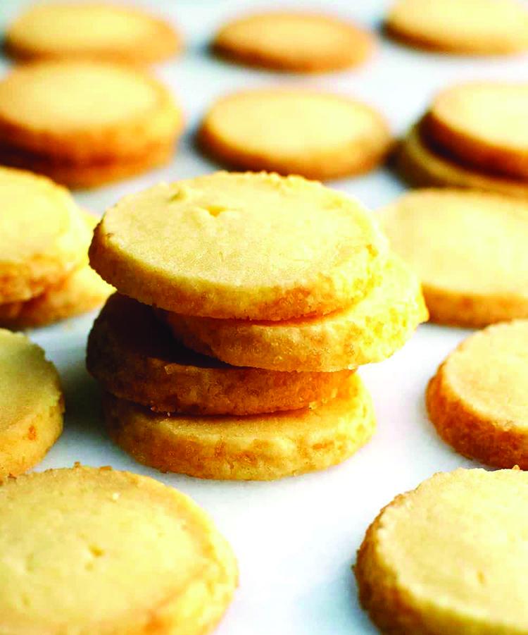 עוגיות חמאה למדור אוכל