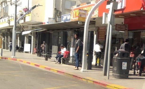 תחנת אוטובוס חדשה בהרצליה