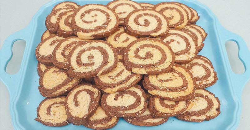 """מדור אוכל- עוגיות ספירלה מרוקאיות מתכון של סבתא יקוט ז""""ל"""
