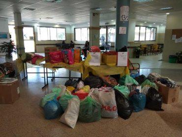 תרומות בבית הספר מטרו ווסט. צילום דורית שטרן