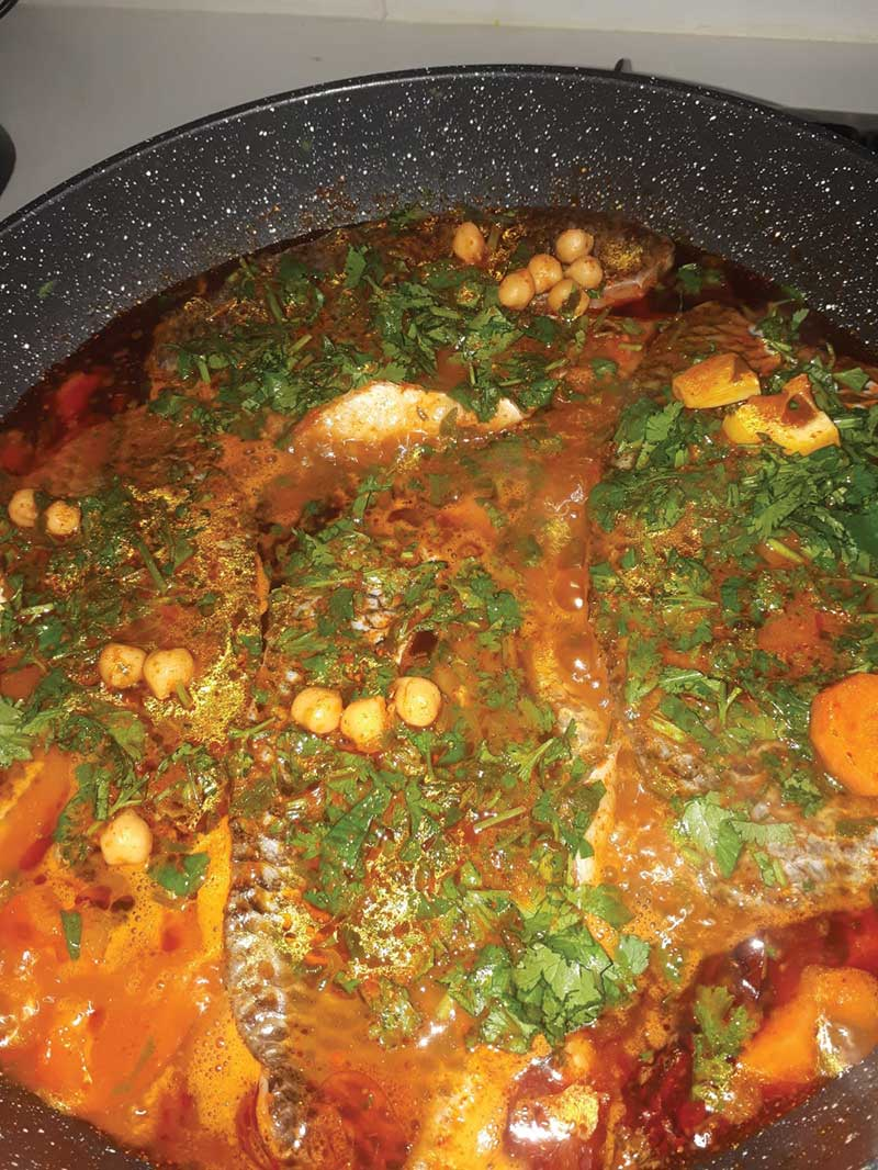 דג מרוקאי שלומית אלימלך - מדור אוכל