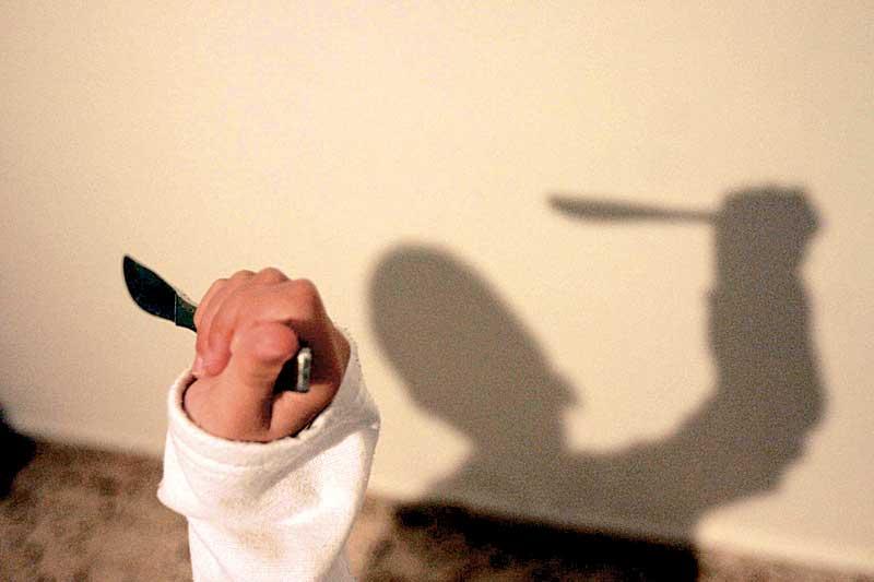 סכין, צילום אילוסטרציה ניר קידר