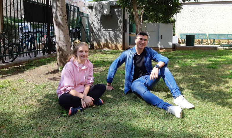 אנסטסיה קרבצ'נקו וסמי בנה