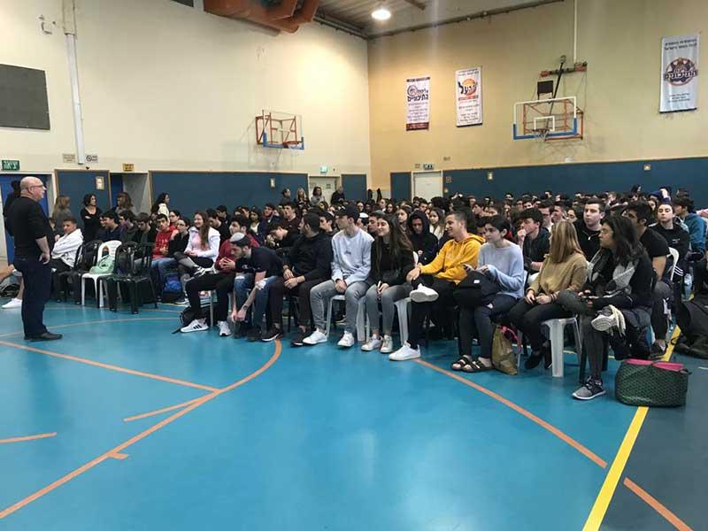 הבחירות בתיכון אוסטרובסקי. צילום תיכון אוסטרובסקי