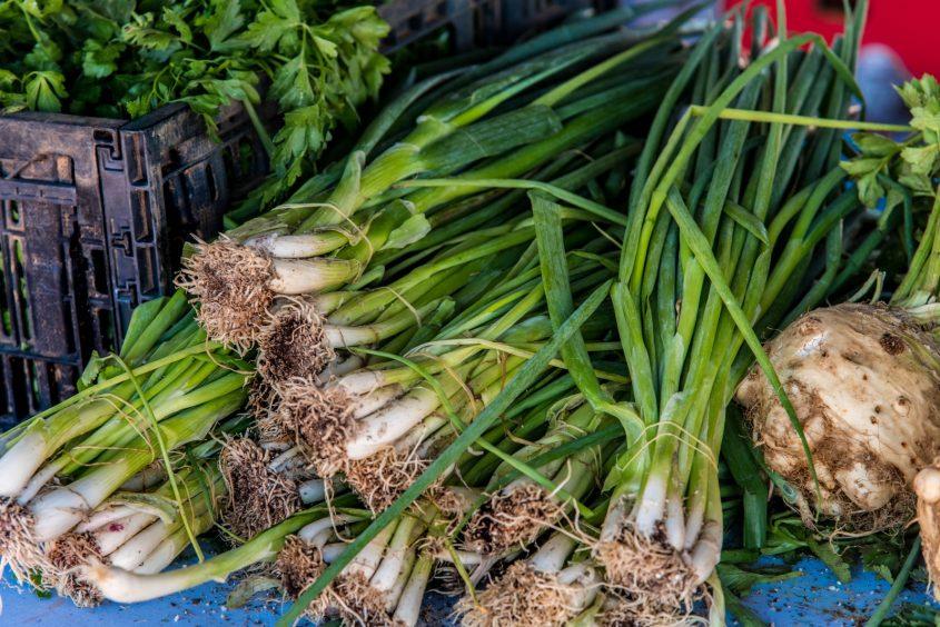 תוצרי השוק החקלאי. קרדיט: דנה כספי