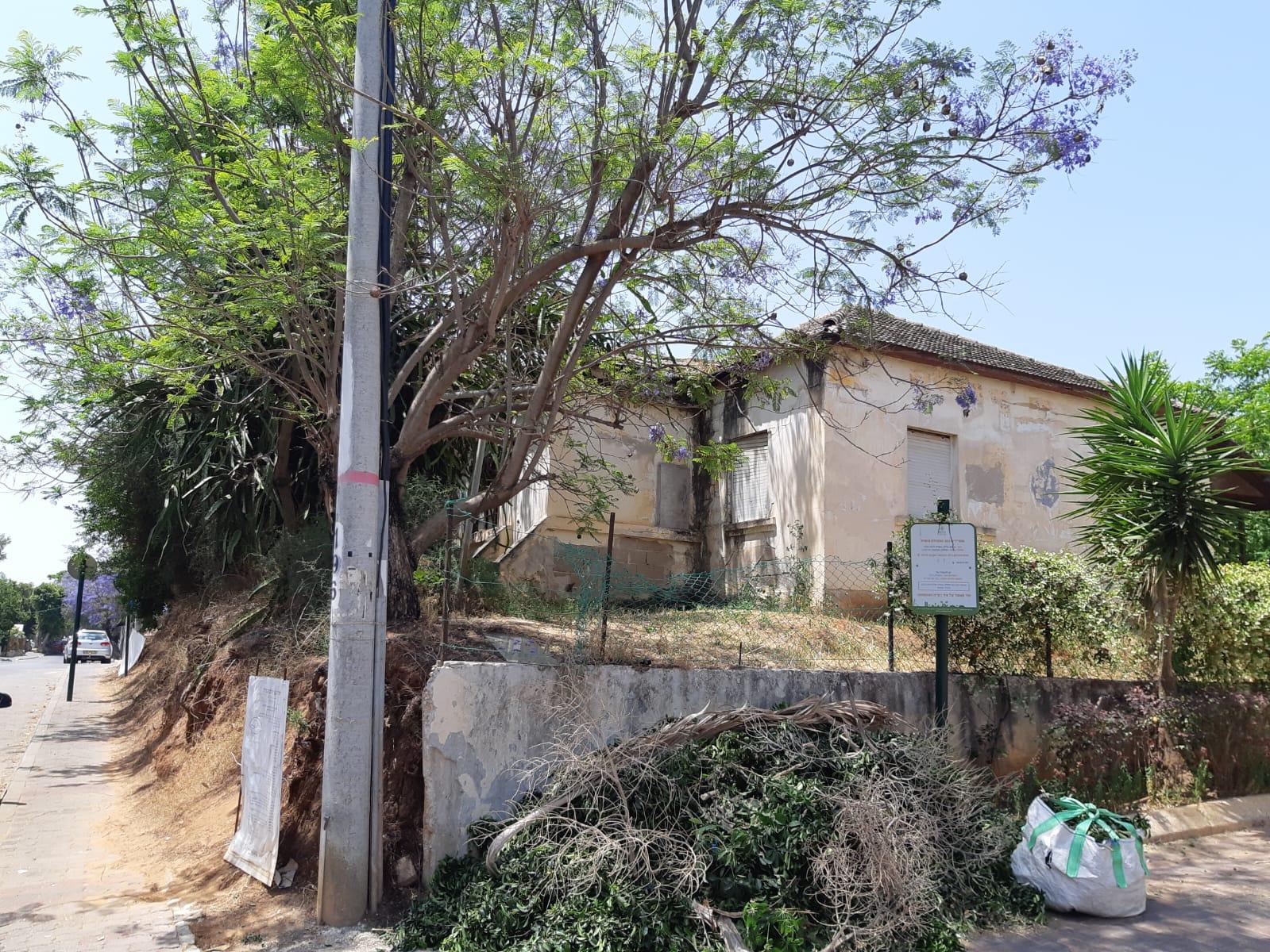 הבית ברחוב יהודה הלוי 6