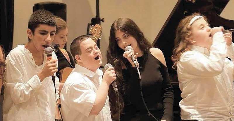 עפרה כהן האירוע בקונסבטוריון למען קרן רוזנטל לזכר מרים רוזנטל צילום עירית גינת